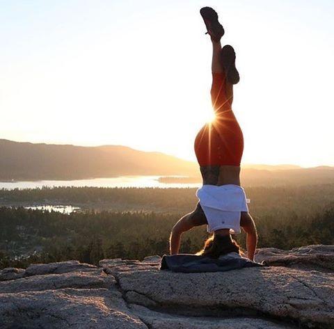 The Sunrise Mountain Pose Yoga Sunrise Yoga Hot Yoga