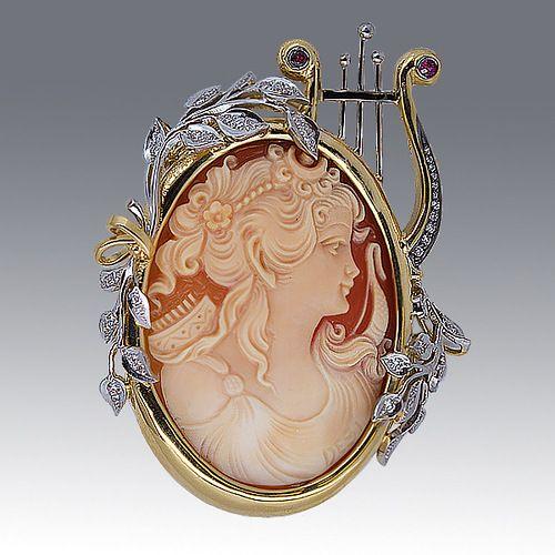 jewelry camafeo (rusia)