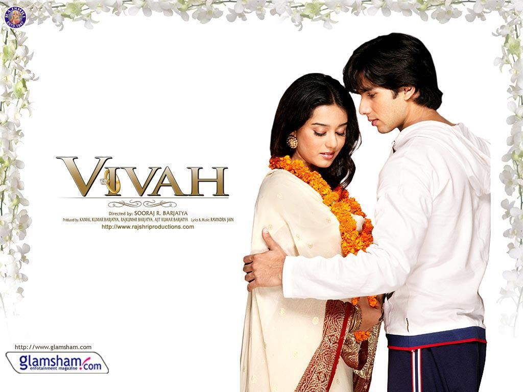 Shahid Kappors Most Recent Film Vivah Along With Amrita Rao Was A