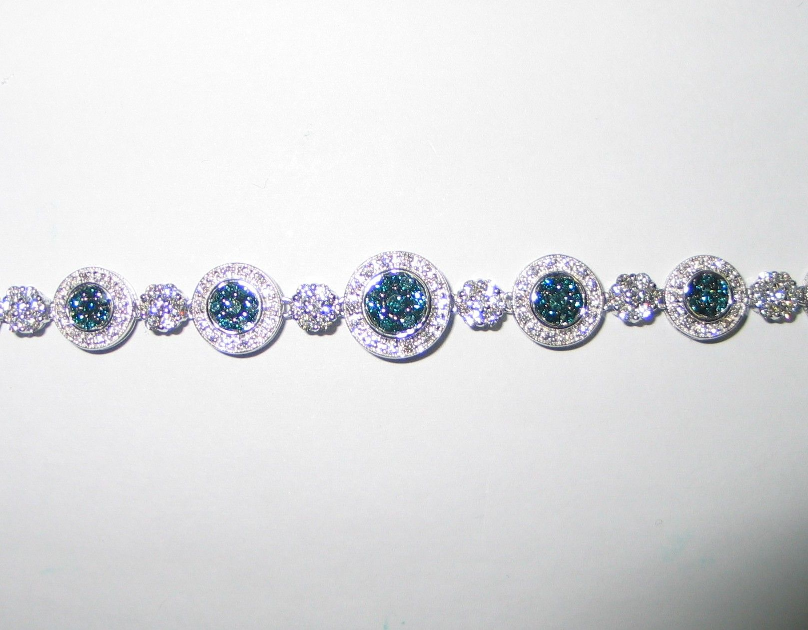 Blue diamond bracelet huge discounts on beautiful jewelry at
