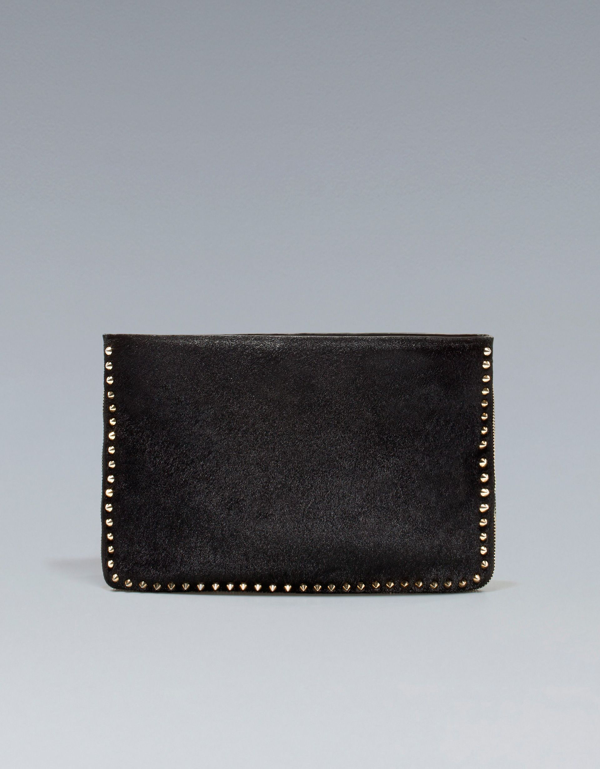 a137bfad813 $199 STUDDED LEATHER CLUTCH - Handbags - Woman - ZARA Singapore ...