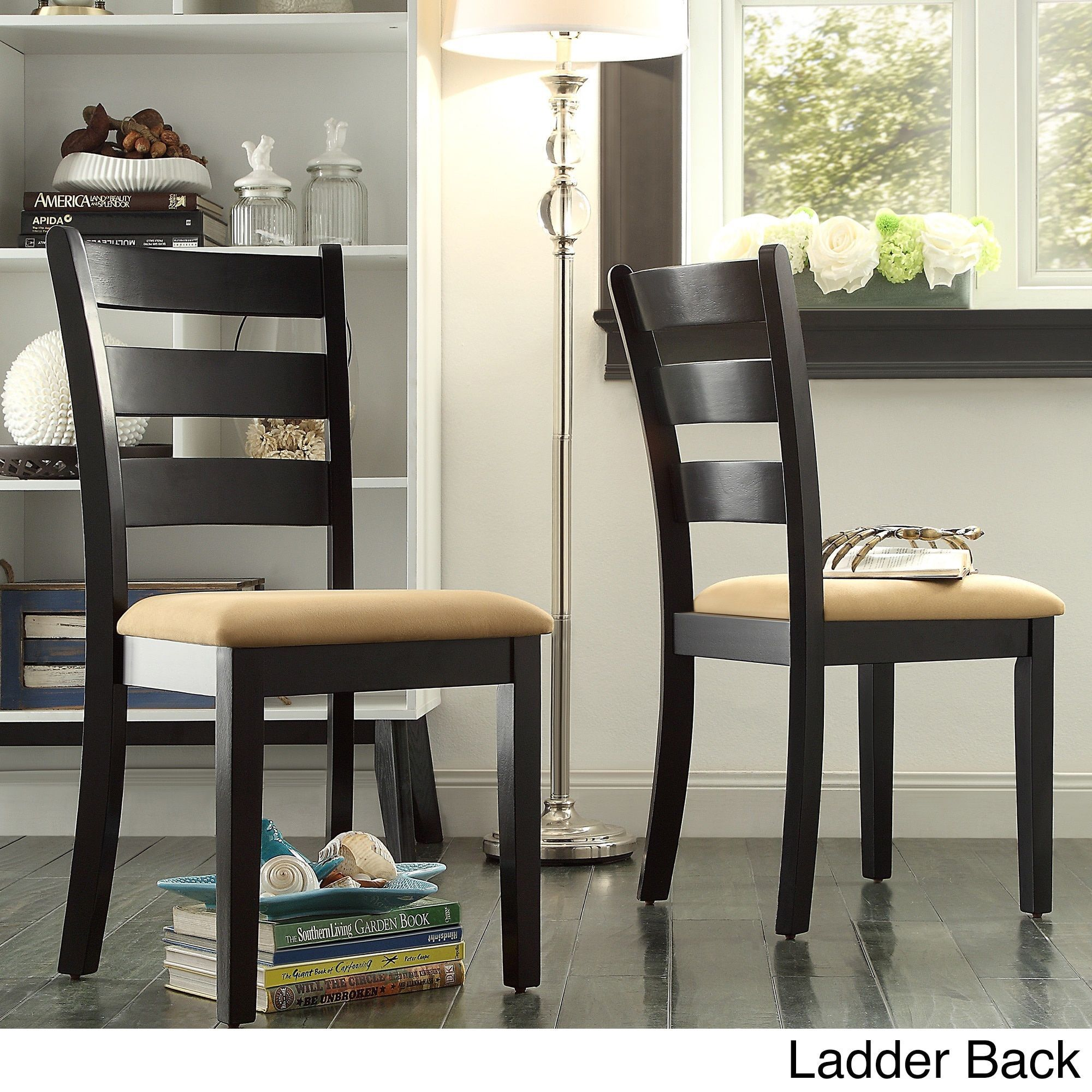 wilmington window back 5 piece dining set by tribecca home