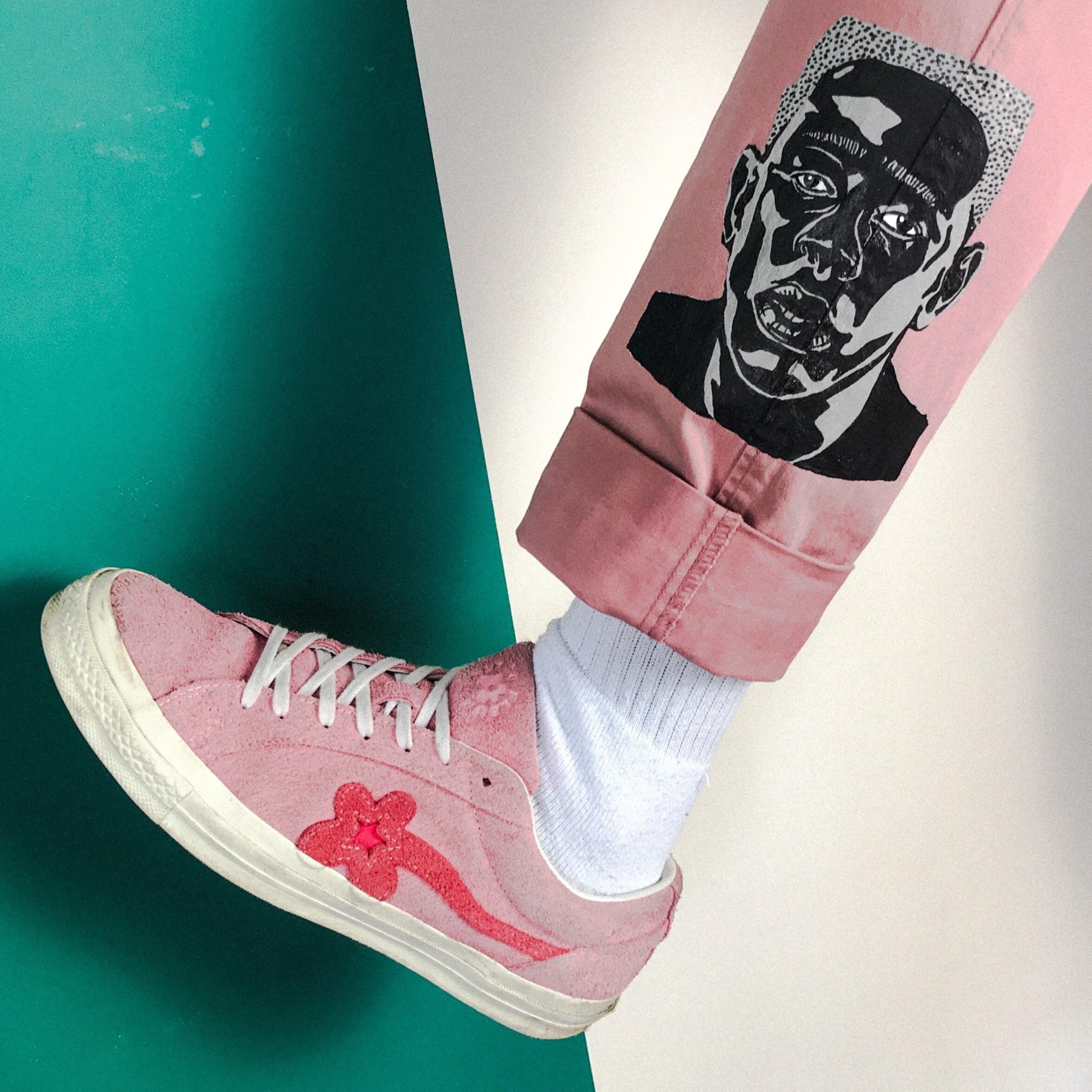 [ART] Hand painted custom pants. VOTE IGOR