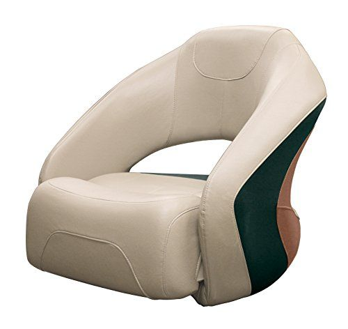 Amazon Com Wise Pontoon Bolster Flip Up Bucket Seat Platinum Jade Tan Boat Seats Sports Outdoors Boat Seats Pontoon Seating