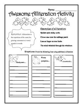 This is a fun, fall-themed worksheet for students learning about ...