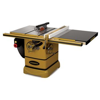 Powermatic 1792002k 3 Hp 10 In Single Phase Left Tilt Table Saw With 30 In Accu Fence And Riving Knife Benchtop Table Saw Portable Table Saw Sliding Table Saw
