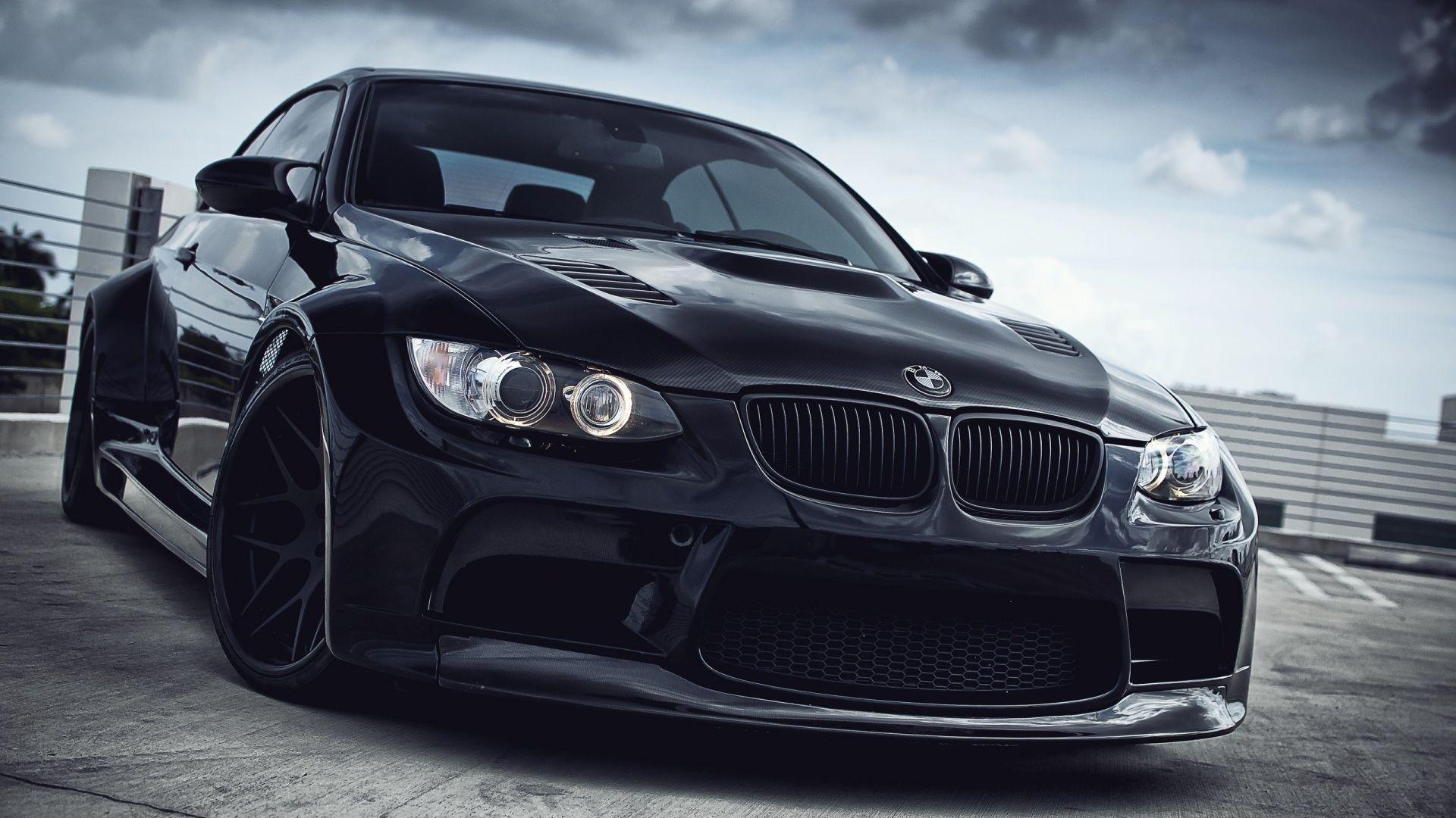 BMW M3 Wallpaper Windows Black Costom Wallpaper | Cars