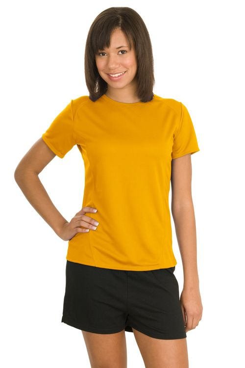 True to Size Apparel - Ladies Dry Zone T-Shirt - Set-in sleeves, $13.98 (http://truetosizeapparel.com/ladies-dry-zone-t-shirt-set-in-sleeves/)