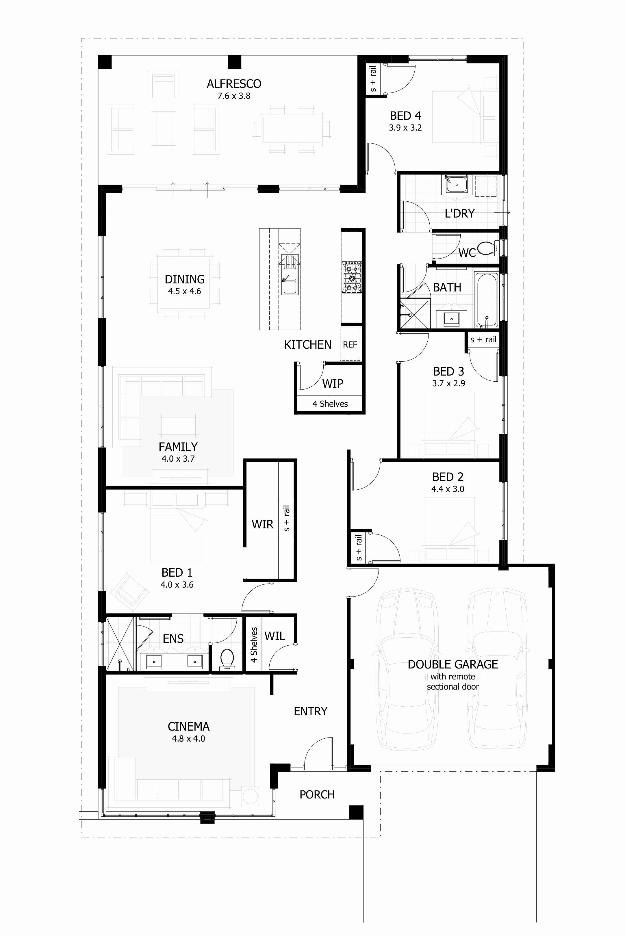 Super Modern Facade As Well As Minimal Entry Are First Thing That Orders Your Focus While You Re Home Design Floor Plans House Plans Australia Free House Plans