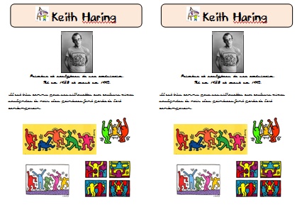 Fabulous Haring | keith haring | Pinterest | Keith haring, Art lessons and  JO89