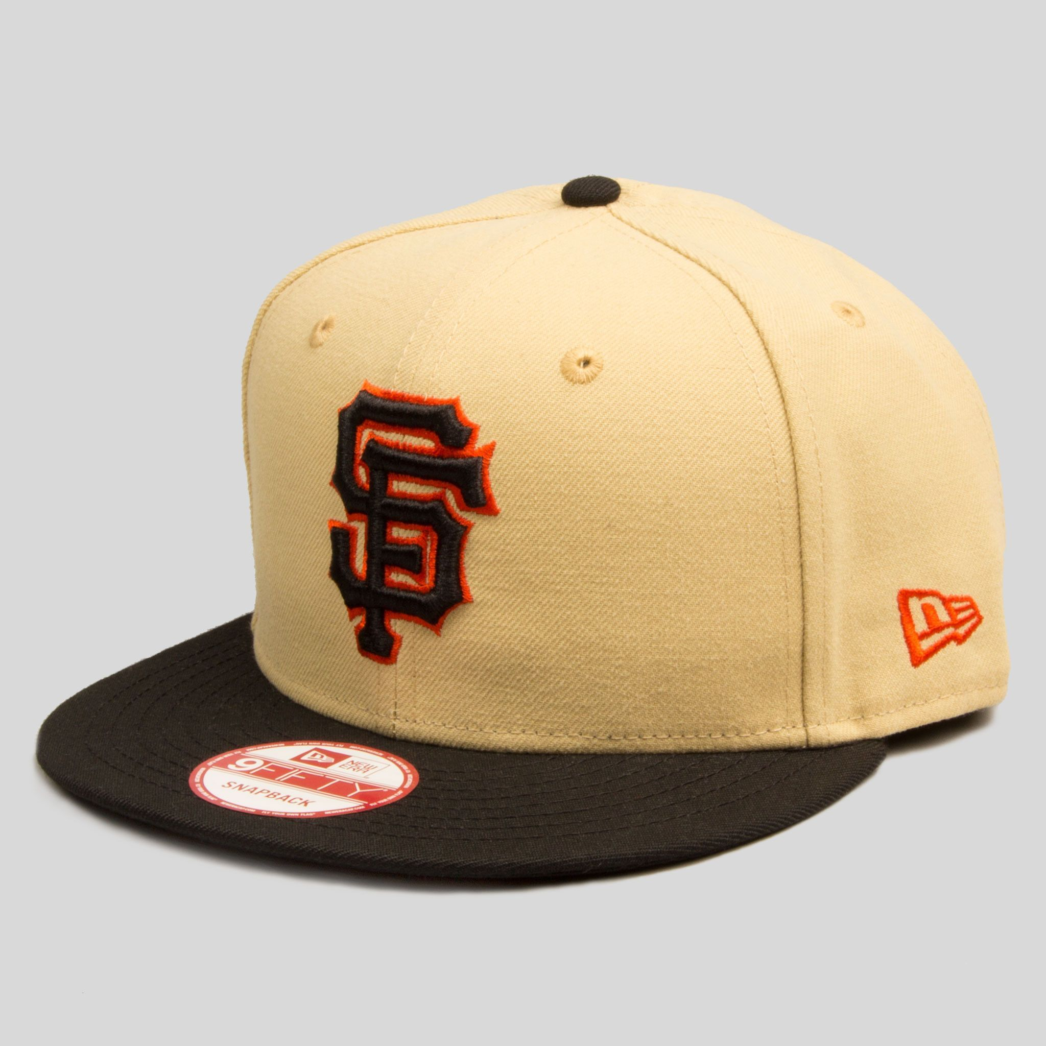 Sf Giants New Era Snapback In Nopa Tan New Era Fitted Fitted Hats New Era Snapback