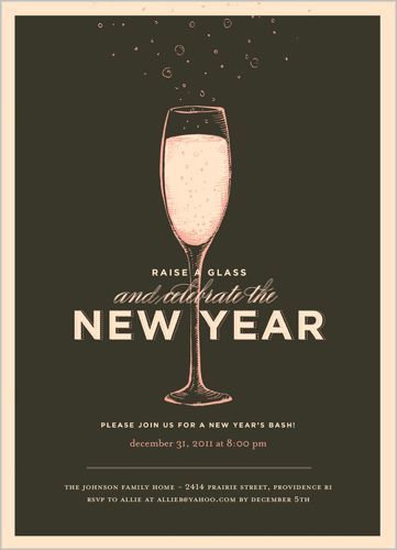 new years invitation love the wording we could definitely re work it for a wedding