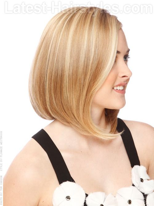 Bob Cut Hairstyles short feathered cut hairstyles for black women Short Bob Rounded Hairstyle The Back Of This Haircut Falls Right Above
