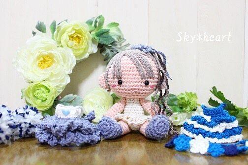 #あみぐるみ #amigurumi#ニッコリ笑顔のあみぐるみSkyheartあみぐるみ#うさぎ#手編み#かぎ針編み#編物 by skyheart.amigurumi