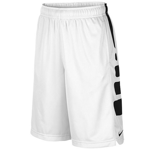 Have the performance your deserve with these Youth Nike Elite Basketball  Shorts! Sweat-wicking mesh fabric Colorful side panels Stretch waist with  interior ...
