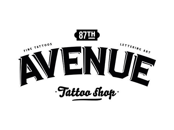 logo of avenue tattoo shopfabien laborie, a designer from