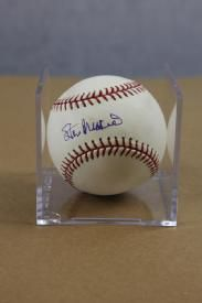 Stan Musial Autographed Baseball It Is Said He Never Would Turn Down A Request For An Autograph He Stan Musial Autographed Baseballs Cardinals Baseball