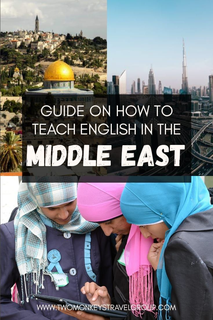How to Teach English in the Middle East – TEFL Teaching Job in Arabic