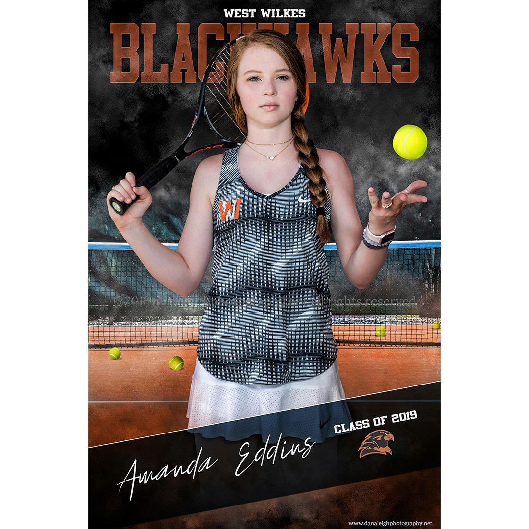 Girls Tennis Senior Banner Senior Banner Senior Sports Photography Sports Team Photography