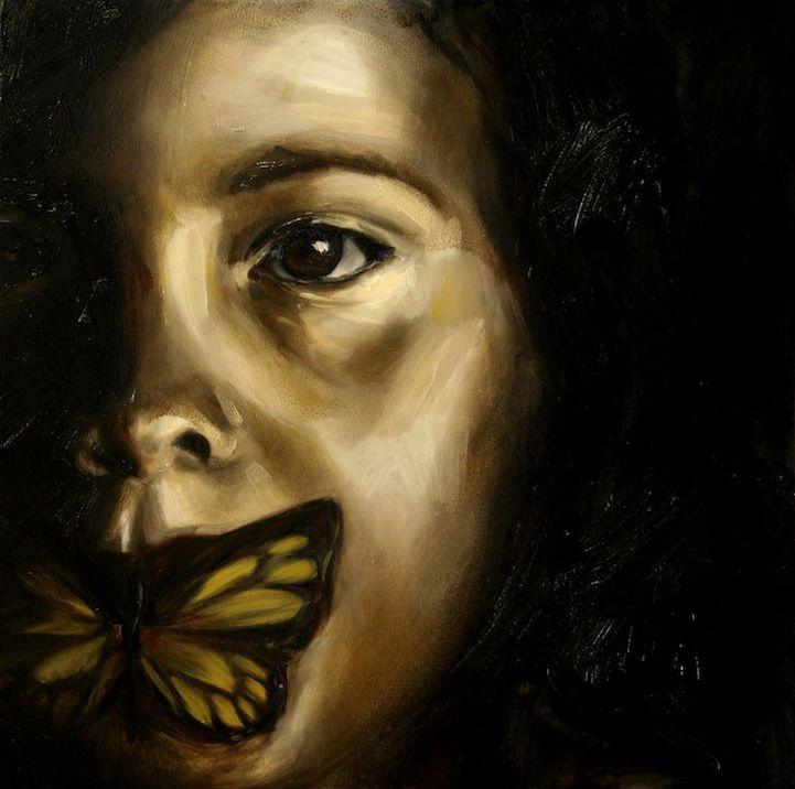 Artiste Copes avec la dépression à travers les peintures puissantes - Mon moderne Met