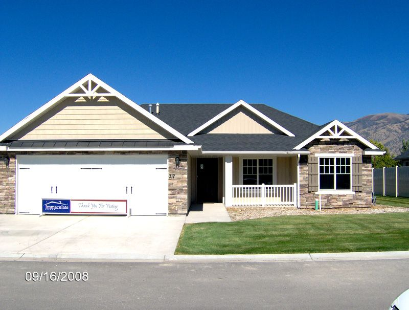 The Poplar View Floor Plans By Logan Utah Home Builder Immaculate Homes