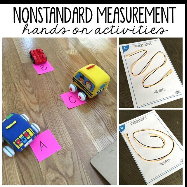 Nonstandard Measurement - TGIF! - Thank God It's First Grade!