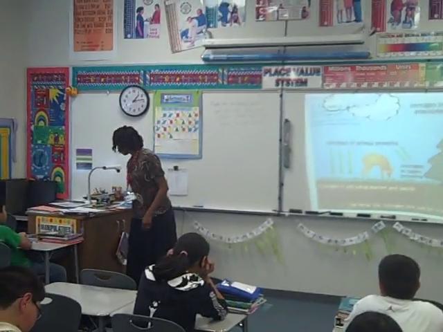 Teaching a 5 E lesson part 1: Watch as a teacher goes through all the 5 E's