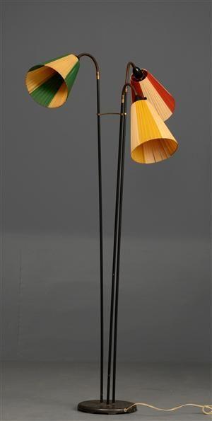 tivoli standerlampe med tre justerbar arme h ca 150 cm home interior pinterest lamper. Black Bedroom Furniture Sets. Home Design Ideas