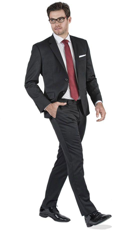 traje negro b sico traje completo chesti de imbracat 2 pinterest. Black Bedroom Furniture Sets. Home Design Ideas