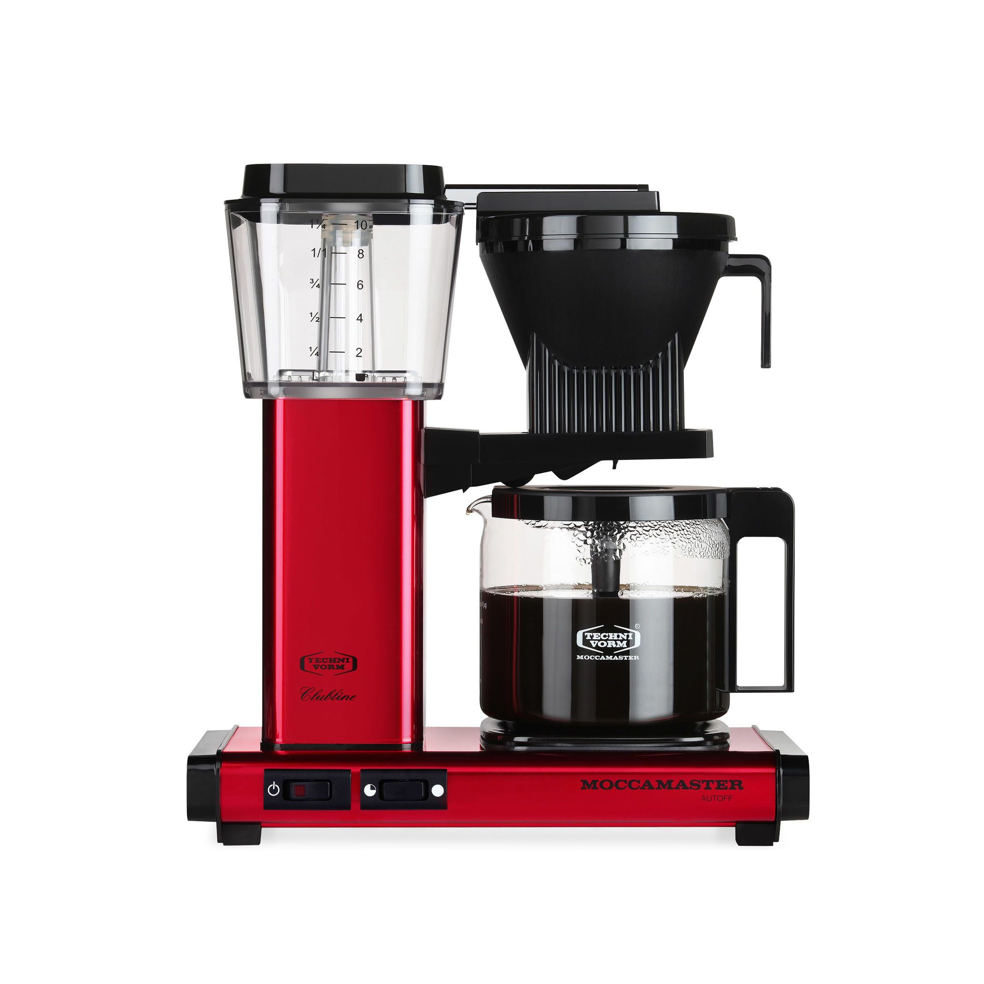 Technivorm Moccamaster KBG Coffee Brewer Red Coffee