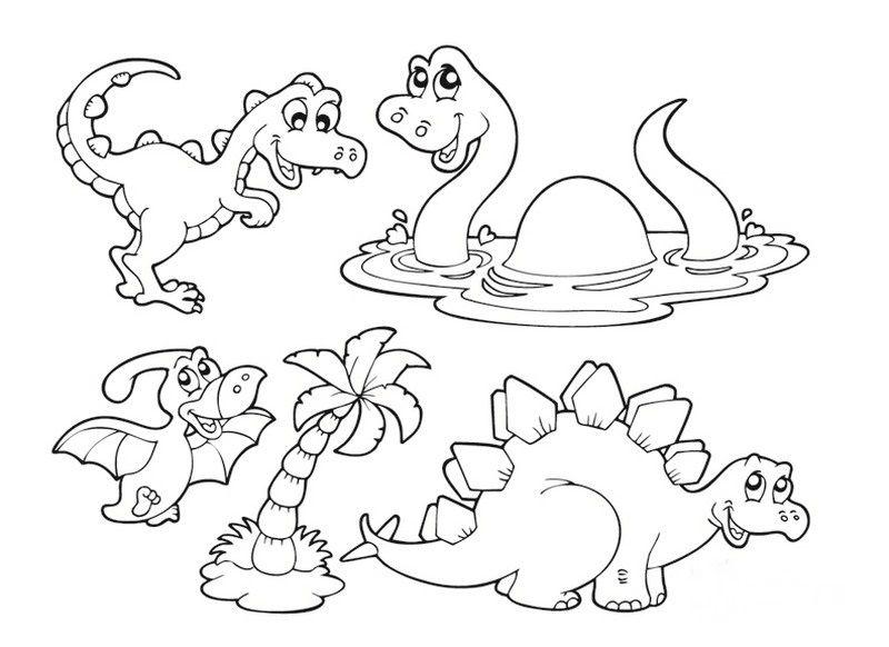 Dinozor Boyama Sayfalari En Guzel Dinozor Boyamalari Boyama Sayfalari Boyama Kitaplari Dinozorlar