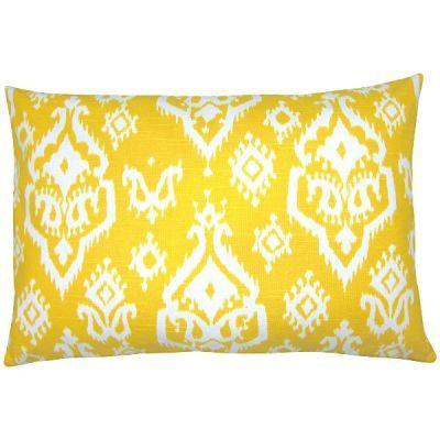Kissen Grau Gelb Weiss Grafisch Kombination 50 X 50 Cm Kissen