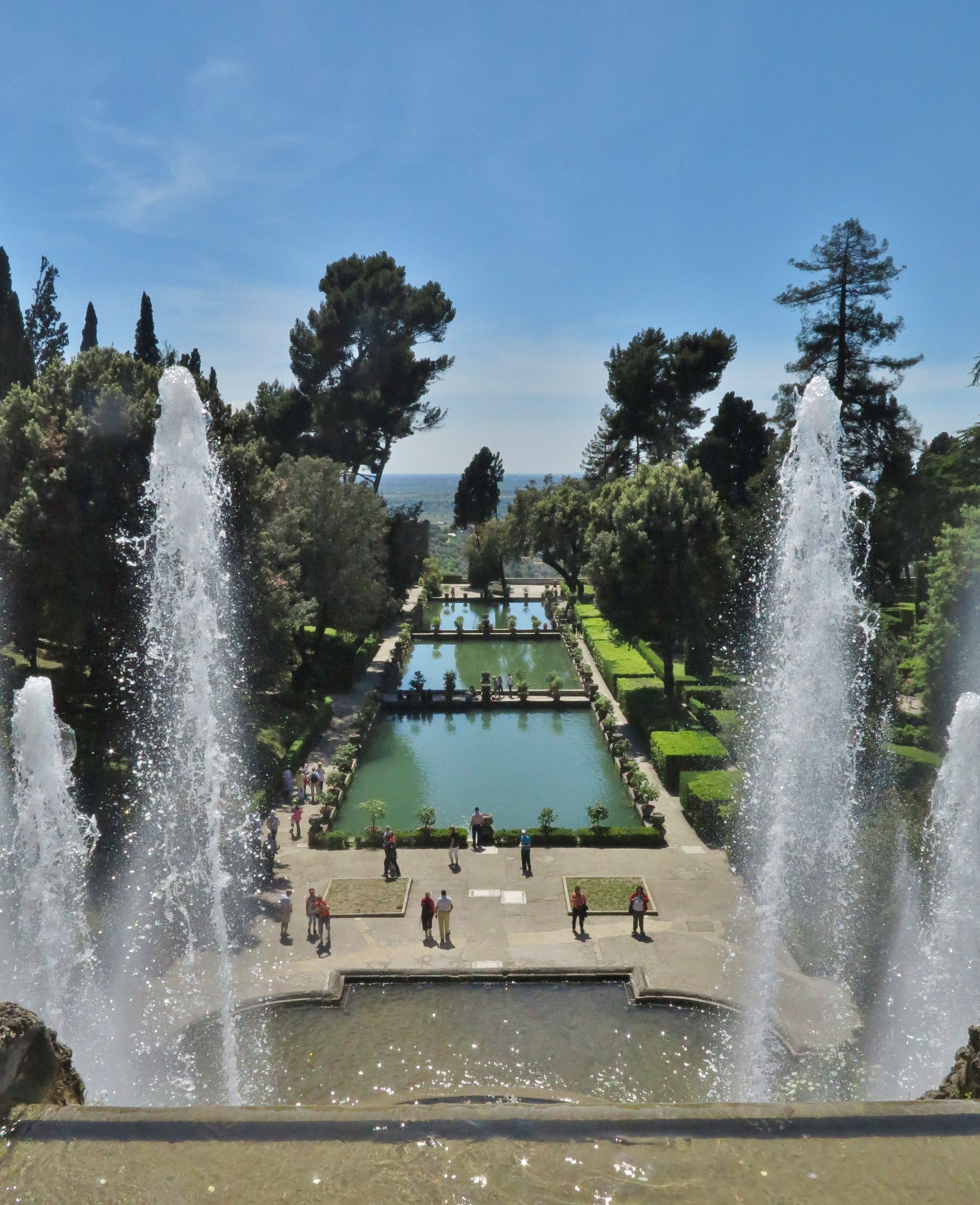 Fountains At Villa D Este Tivoli Tivoli Fountains House Styles