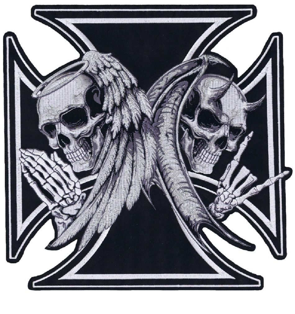 Grim Reapers Embroidered Sew on iron On Brand New High Quality Patch N-770