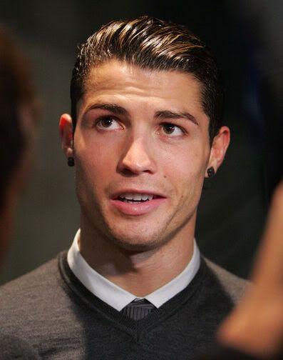 Cristiano Ronaldo Combed Back Hairstyle Style Designs Ronaldo Haircut Cristiano Ronaldo Haircut Cristiano Ronaldo Hairstyle