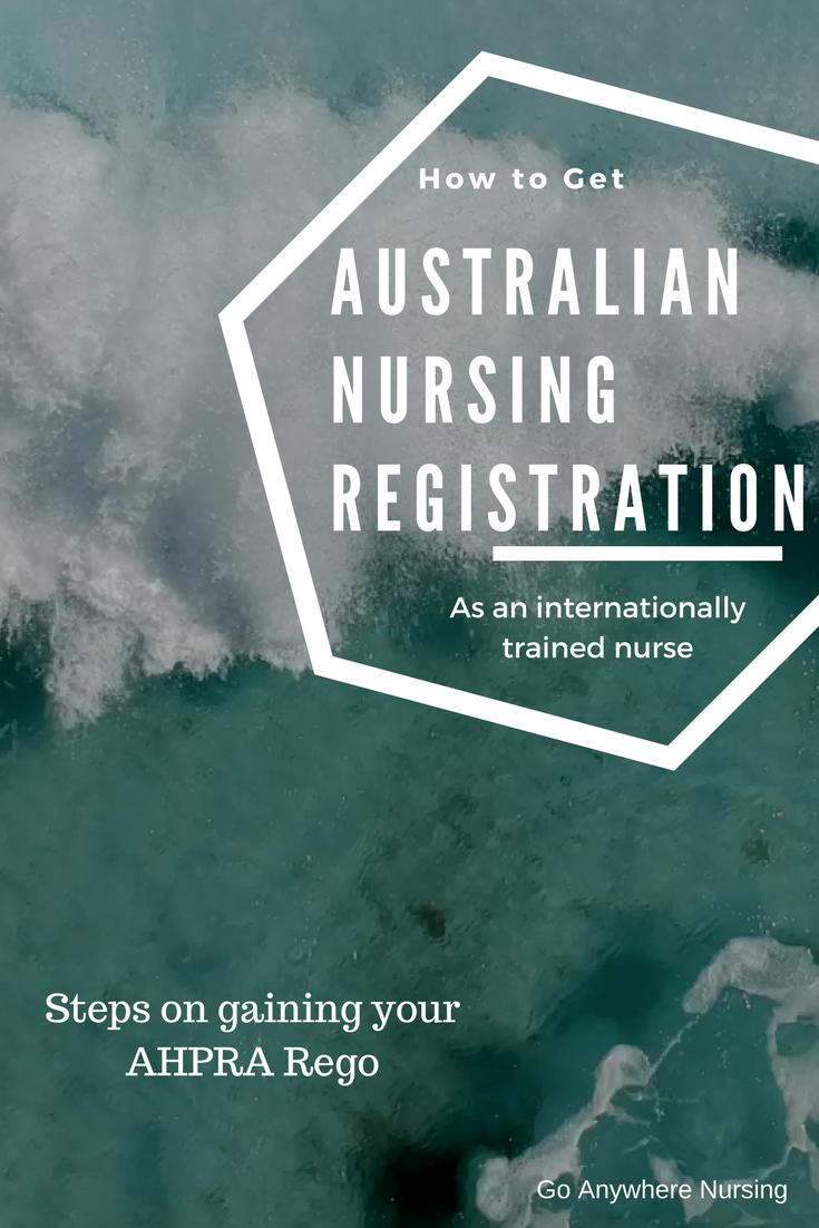 Australian Registration As An Internationally Trained Nurse Travel