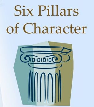 six pillars of character power point presentation great for six pillars of character power point presentation great for guidance lessons on trustworthiness respect