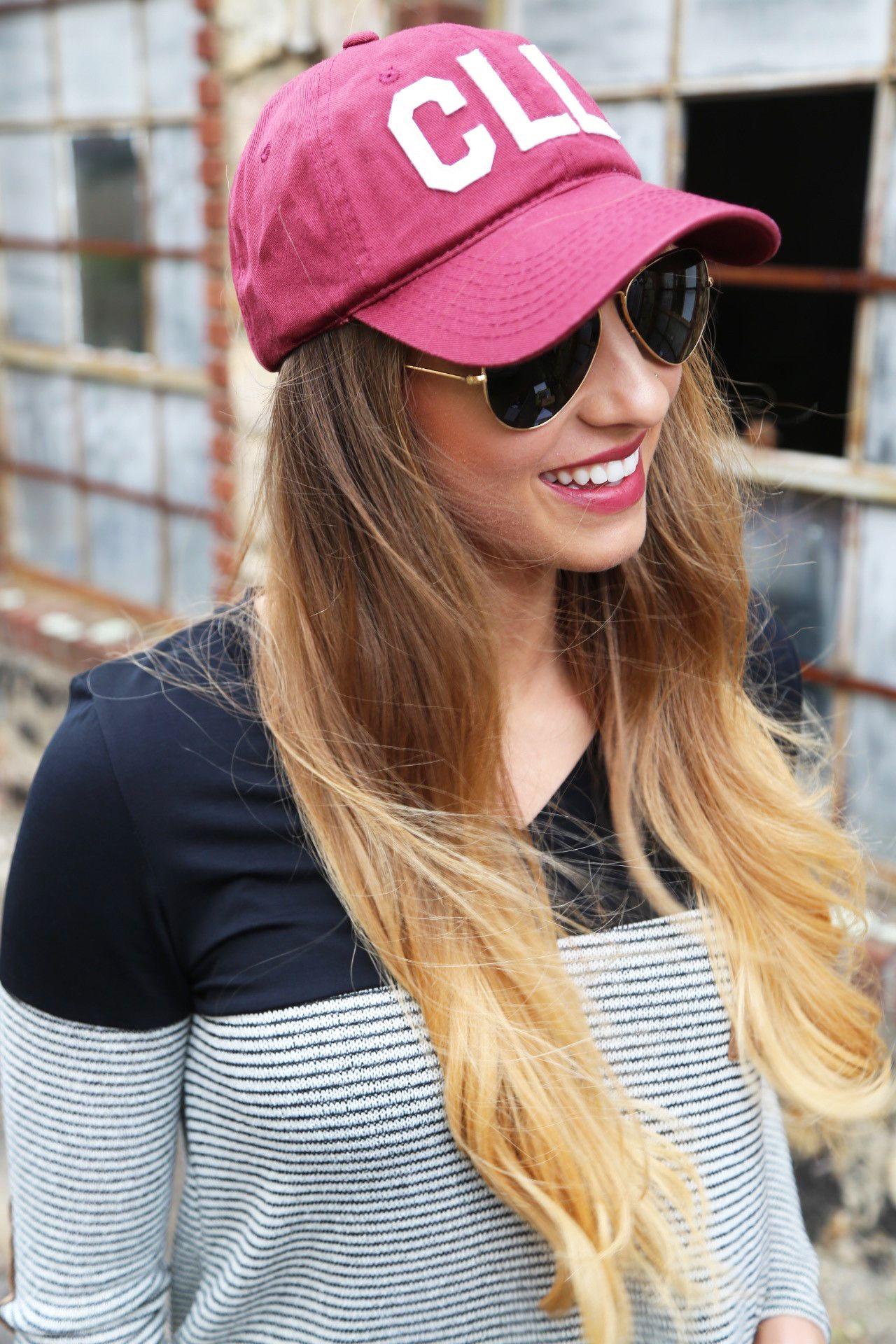 Aviate Ball Cap Cll Red Products Fashion Cap Cap Girl