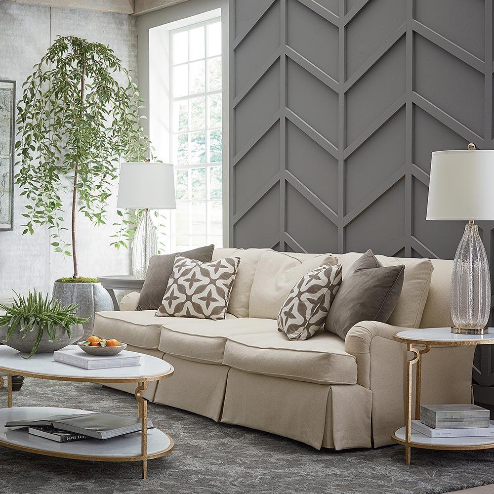 Marseille Conversation Sofa By Bassett Furniture Features An