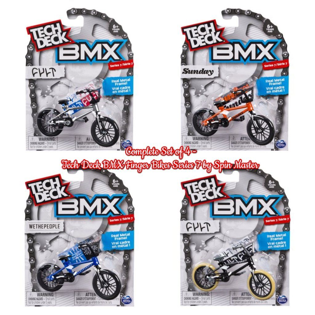 Pin en Tech Deck BMX Finger Bike Series by Spin Master