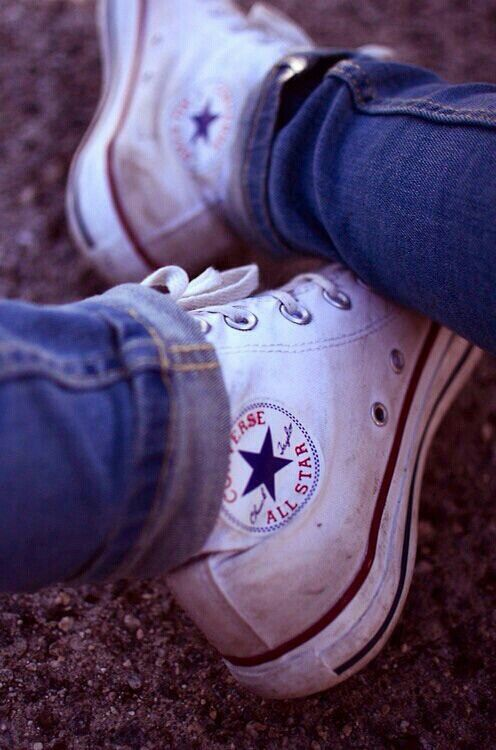 91cce2e5f I love Dirty Converse Sneakers | Shakas in 2019 | Shoes, White ...