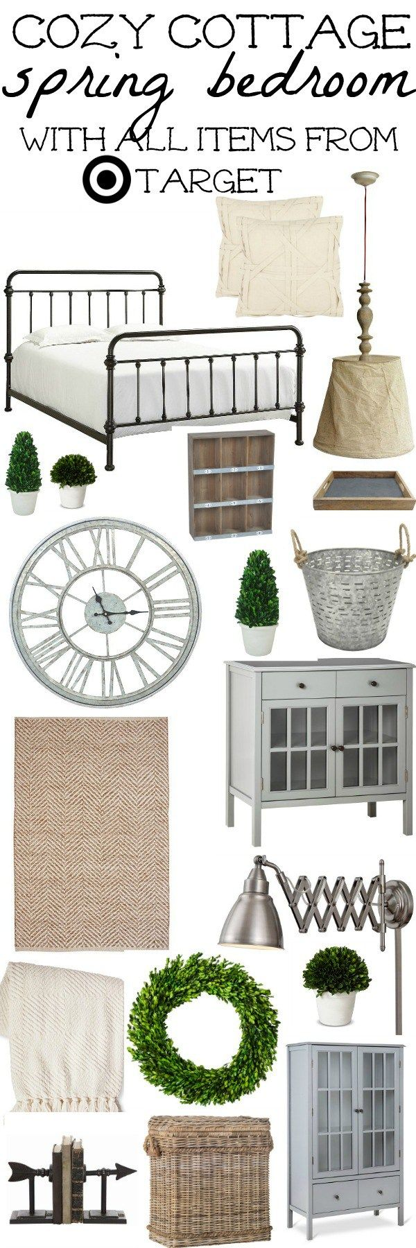 Bedroom Items. Cozy Cottage Spring Bedroom Design  Target and Bedrooms