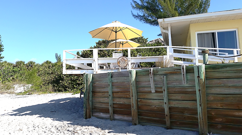 Our Inn is right on the beach on Manasota Key Florida ...