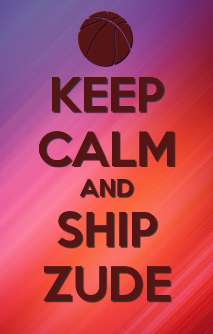 Keep calm and ship Zude