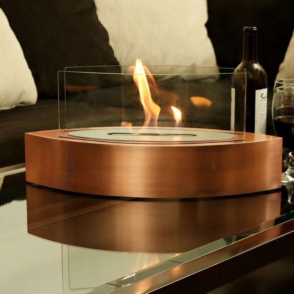 Sunnydaze Barco Tabletop Fireplace Indoor Ventless Bio Ethanol
