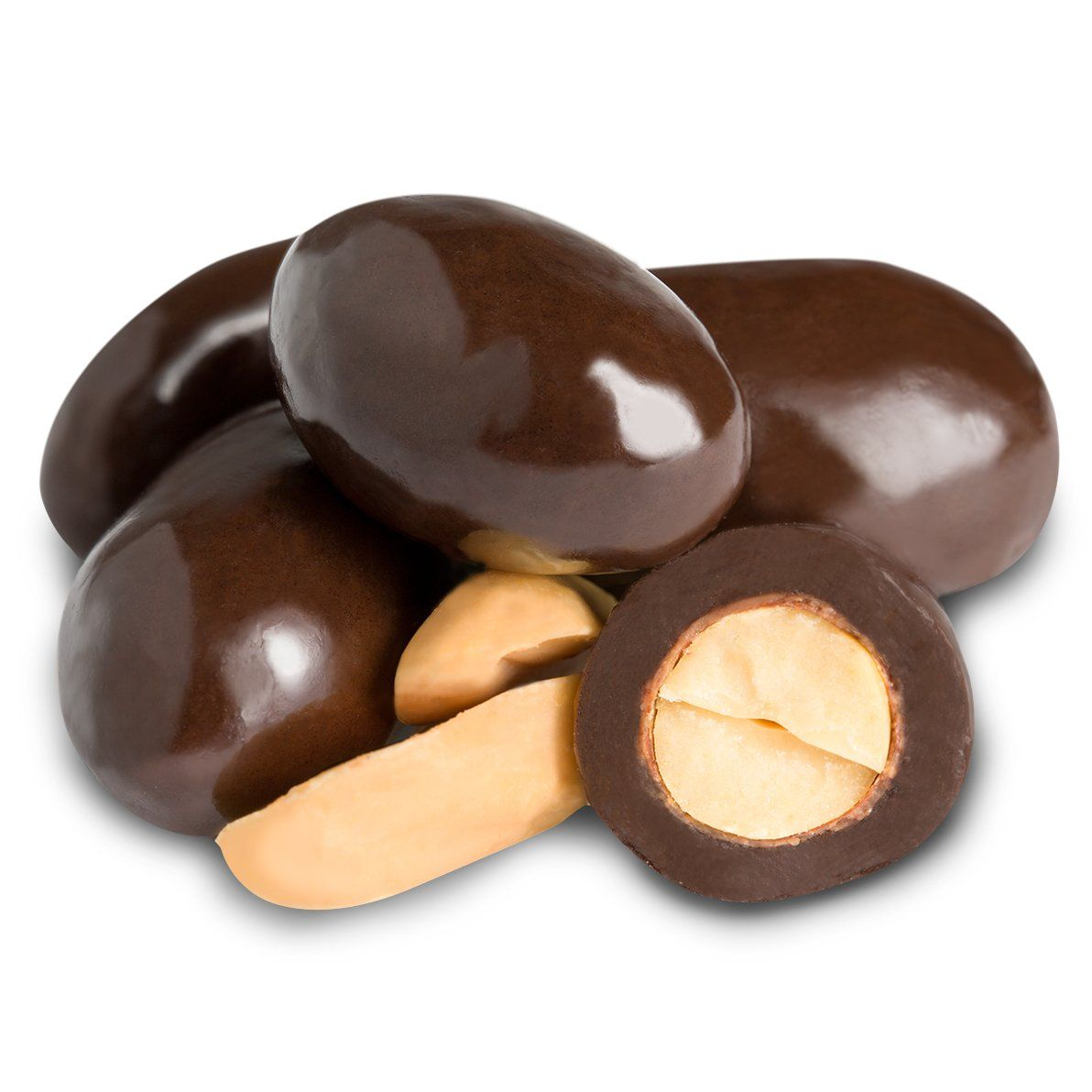 Dark Chocolate Panned Peanuts | All Chocolate | Chocolate | Albanese Candy