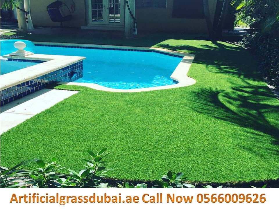 Artificial Grass Swimming Pool Surrounds Dubai Abu Dhabi Al Ain