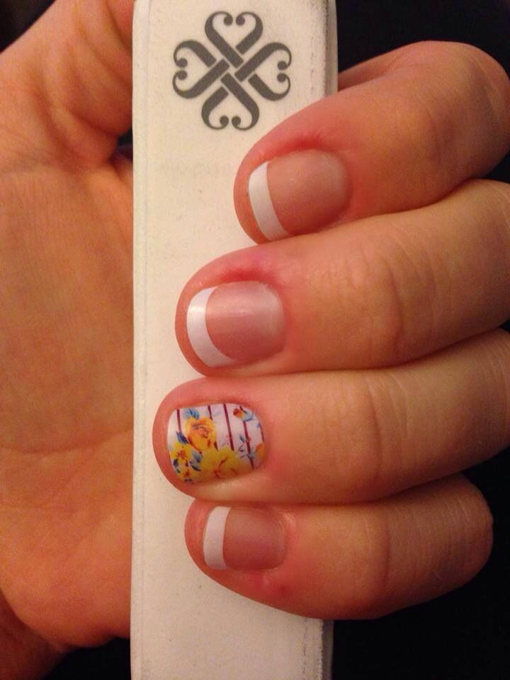 Jamberry nail wraps!