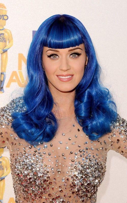 Katy Perry Blue Hair Katy Perry Hair Katy Perry Hair Color How