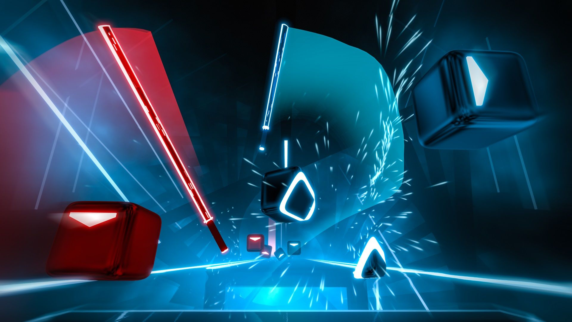 Beat Saber Has Been Updated To Version 1 13 On Psvr And This Brings In Some New Fixes Along With It Among The Fixe Vr Games Rhythm Games Virtual Reality Games